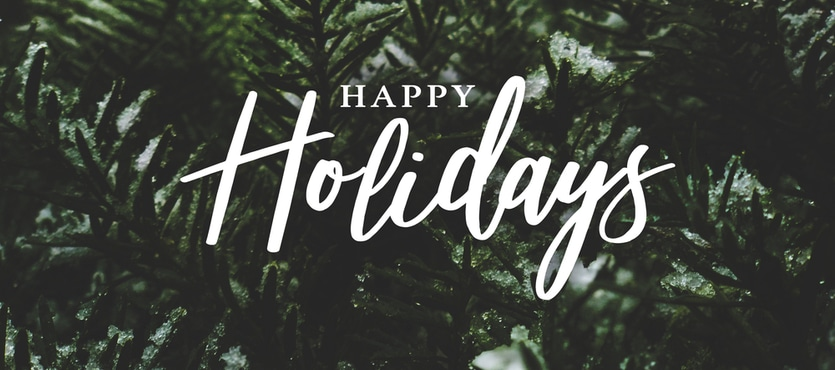 A Holiday Message From Our President, Paul Shaughnessy - We Greet 2019 With Open Arms!